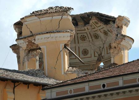 La piscina di Siloe e il terremoto in Abruzzo