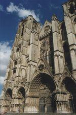 La Cathédrale de St-Etienne a Bourges