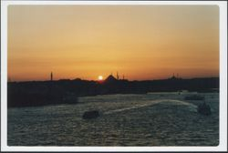 Istanbul - tramonto