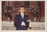 Paolo, Prima Comunione, aprile 1973