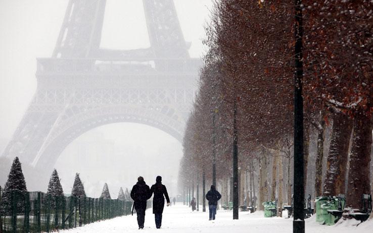Comme la neige à Paris