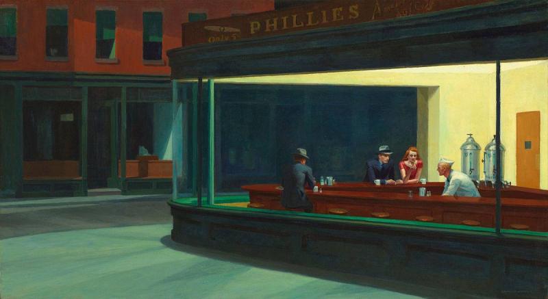 Il barman di Nighthawks