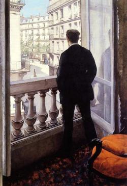 Jeune homme à la fenêtre